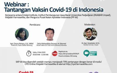 Webinar : Tantangan Vaksin Covid-19 di Indonesia