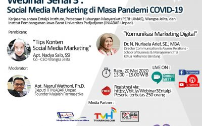 Webinar : Social Media Marketing di Masa Pandemi COVID-19