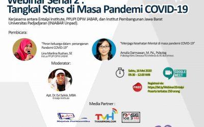 Webinar : Tangkal Stres di Masa Pandemi COVID-19